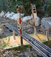 Trains Hornby Passage à Niveau En Tôle - Escala O