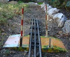 Trains Hornby Passage à Niveau En Tôle - Echelle O