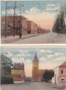 2 Cartes Camp De BEVERLOO   Eglise Poste Et Hopital Militaire - Leopoldsburg