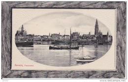 AK Anvers - Panorama - Feldpost Armierungs-Bataillon (1. Württ.) Nr. 59 - Prägedruck - 1915 (23832) - Antwerpen