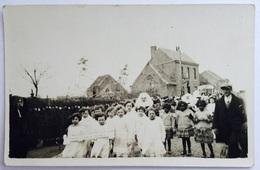 Egem : Unieke FOTOKAART 1935 Inhaling Pastoor Delporte Zwevezele Pittem - Pittem