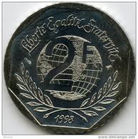 France 2 Francs 1998 René Cassin GAD 551 KM 1213 - Frankreich