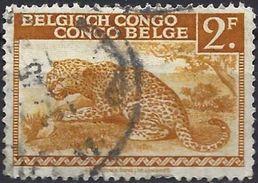 Belgian Congo 1942 - Leopard ( Mi 218 - YT 240 ) - 1923-44: Usati