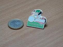 PIN'S. CYCLISME TOUR DE FRANCE1992. St GERVAIS MONT BLANC SESTRIERS 18 JUILLET 1992. - Wielrennen