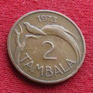 Malawi 2 Tambala 1973 KM# 8.1 - Malawi