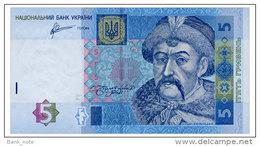 UKRAINE 5 HRYVEN 2011 Pick ARBUZOV 118c Unc - Ukraine
