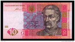 UKRAINE 10 HRYVEN 2015(2016) HONTAREVA Pick 119Ad Unc - Oekraïne