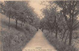CRANSAC - Une Allée Du Parc De L'Etablissement Thermal - Autres Communes