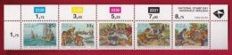 RSA, 1992, MNH Stamps In Control Blocks, MI 834-838, National Stamp Day, X653B - South Africa (1961-...)