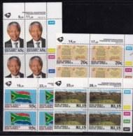 RSA, 1994, MNH Stamps In Control Blocks, MI 926-929, President Mandela, X722 - South Africa (1961-...)