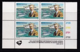 RSA, 1995, MNH Stamps In Control Blocks, MI 967, Dr. John Gilchrist, (ships), X729 - South Africa (1961-...)