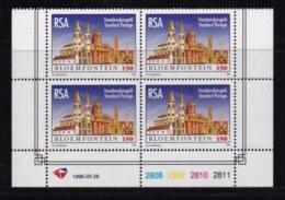 RSA, 1996, MNH Stamps In Control Blocks, MI 992, Bloemfontein, X735 - South Africa (1961-...)