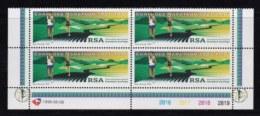 RSA, 1996, MNH Stamps In Control Blocks, MI 1004, Comrades Marathon, X736 - South Africa (1961-...)