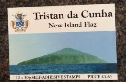 Tristan Da Cunha  2004 NEW ISLAND FLAG BOOKLET MNH - Tristan Da Cunha