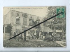 CPA Abîmée  - 37 - Les Ruines De Grêtry Anciennement Habitées Par Jean Jacques Rousseau (Montmorency ) - Montmorency