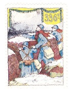 Vignette Militaire Delandre - 336ème Régiment D'infanterie - Militario