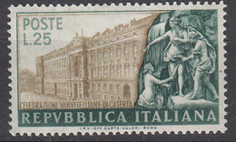 Italia - 1952 - Celebrazioni Vanvitelliane ** - 1946-.. République