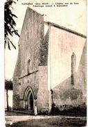 CPA N°3760 - NANCRAS - L' EGLISE VUE DE FACE - PELERINAGE ANNUEL 8 SEPTEMBRE - Andere Gemeenten