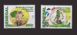 SENEGAL 2017 AFCON AFRICA CUP OF NATIONS COUPE D' AFRIQUE DES NATIONS - 60 YEARS ANS - FULL SET - RARE-  MNH - Senegal (1960-...)