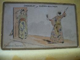 B9 3149 - CHOCOLAT GUERIN-BOUTRON - ACROBATES JAPONAIS - Guerin Boutron