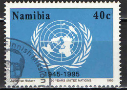 NAMIBIA - 1995 - CINQUANTENARIO DELL'ONU - USATO - Namibia (1990- ...)