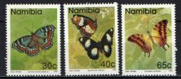 NAMIBIA - 1993 - FARFALLE - BUTTERFLIES - NUOVI MNH - Namibia (1990- ...)