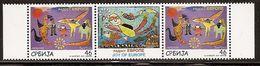 Serbia 2011 Joy Of Europe, Stamp-vignette-stamp, MNH (**) Michel 434 - Serbia
