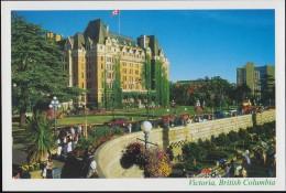 The Empress Hotel, Victoria (PC222) - Hotels & Restaurants