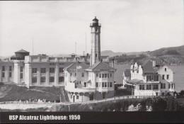 USP Alcatraz Island, 1950 Liththouse (PC266) - Prison