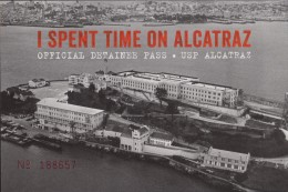 USP Alcatraz Island, Official Detainee Pass No. 188657 (PC268) - Prison