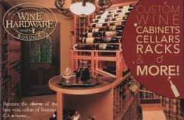 Wine Hardware, California (PC343) - Vines