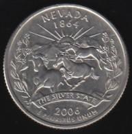 USA -  2006 Circulating 25¢ Coin, Nevada - Federal Issues