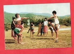 Myanmar Burma Birmanie Rangoun Rangoon A Traditional Game  ( Format 10,1x15,2 ) - Myanmar (Birma)