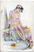 Illustrateur Ney - A La Toilette, Femme Pin-up - Altre Illustrazioni