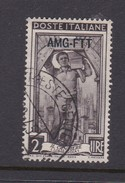 Trieste Allied Military Government S 91  1950 Provincial Occupations 2 Lira Brown Used - 7. Trieste