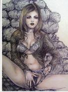 MARRACHE: Abus De La Comtesse [femme Nu érotique CPM ] CT050 - Paintings