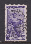 Trieste Allied Military Government S 97 1950 Provincial Occupations 20 Lira Violet Used - 7. Trieste