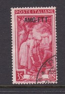 Trieste Allied Military Government S 100 1950 Provincial Occupations 35 Lira Red Used - 7. Trieste