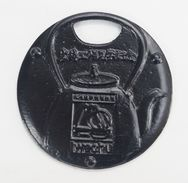 Small Cast Iron Japanese Plate - Asian Art