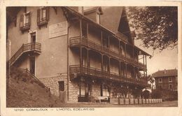 12720 COMBLOUX L HOTEL EDELWEISS - Combloux