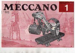 CATALOGUE MECCANO Triang 1 - Meccano