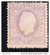 Luiz I  300 Reis  Perf 12 ½ (*) No Gum - 1862-1884 : D.Luiz I