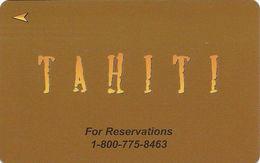 Tahiti - Hotel Room Key Card - Hotel Keycards