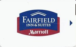 Fairfield Inn Marriott Hotel Room Key Card - L Before Web Address Next To Mag Stripe - Hotel Keycards