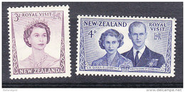 New Zealand 1953 Royal Visit  - Mint - New Zealand