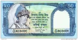 NEPAL 50 RUPEE BANKNOTE KING GYANENDRA 2002 PICK - 48 UNC - Nepal