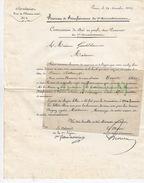 VIlle De Pari Bureau De Bienfaisance Du 7e Arrondissement à Madame Genthilomme. Gilbert De Voisins. 1834 1834 - Historical Documents