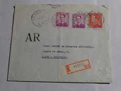 Doc. à Partir Assesse Le 03/02/70 En Recommandé. - 1953-1972 Lunettes