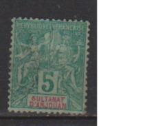 ANJOUAN        N°  4          OBLITERE  ( O 576 ) - Anjouan (1892-1912)