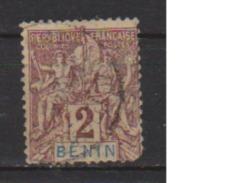 BENIN       N°    34  2° Choix     OBLITERE  ( O 583 ) - Bénin (1892-1894)